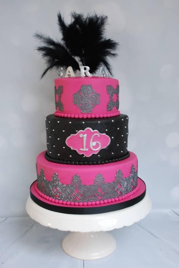 Fabulous Sweet 16 taart @RW72