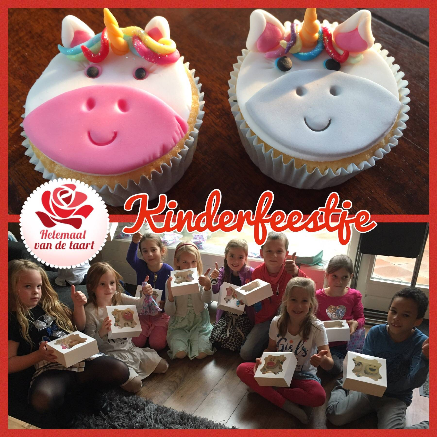 Kinderfeestje Cupcakes Utrecht